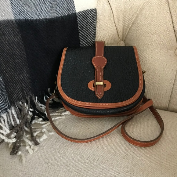 Dooney & Bourke Handbags - Dooney & Bourke Vintage Equestrian AWL Crossbody